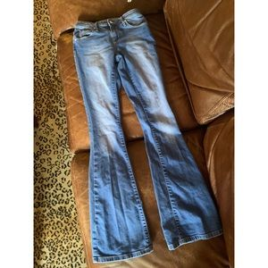 Women's high-rise Bellbottom jeans